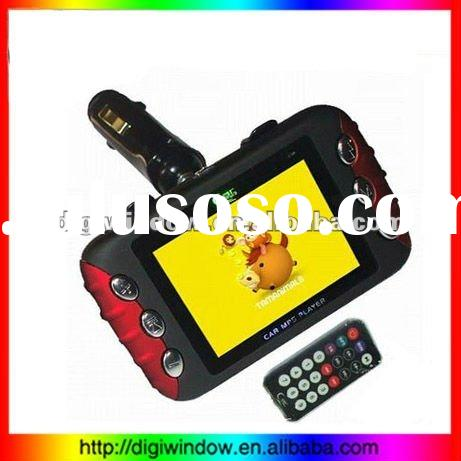 flash car mp4 player with FM Transmitter (DW-5-012)