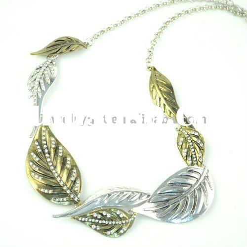 free shipping , golden jewelry , fashion alloy necklaces , nl-1445