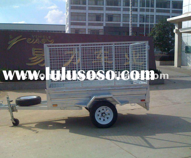 Steel Galvanized Utility Trailer http://www.lulusoso.com/products/Galvanized-Couplers-For-Trailers.html