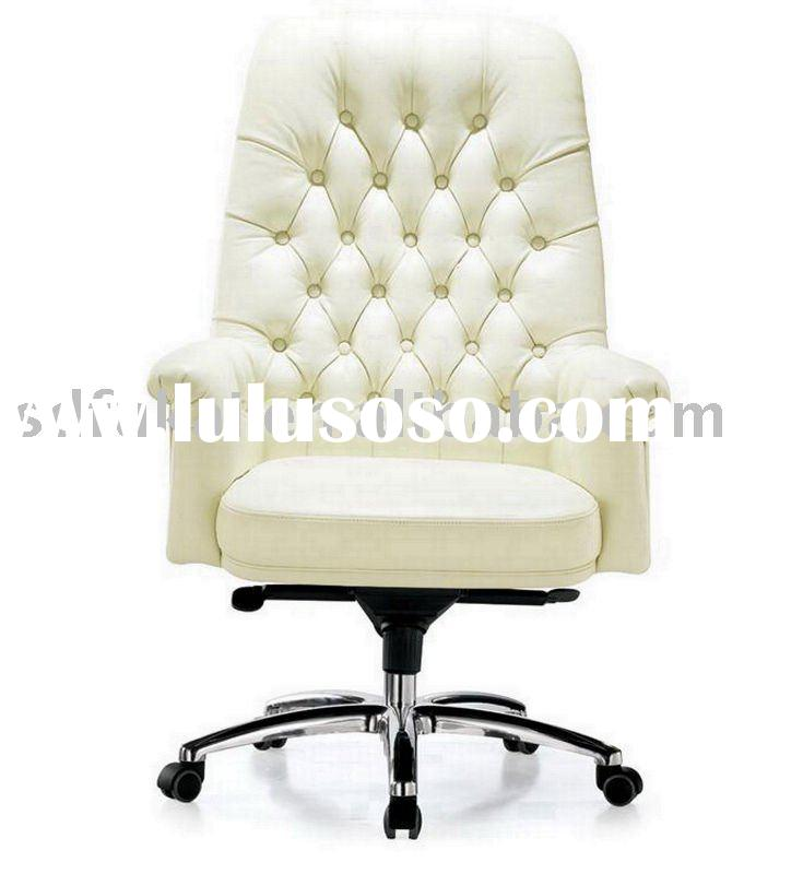 high quality Italian leather modern style office furniture
