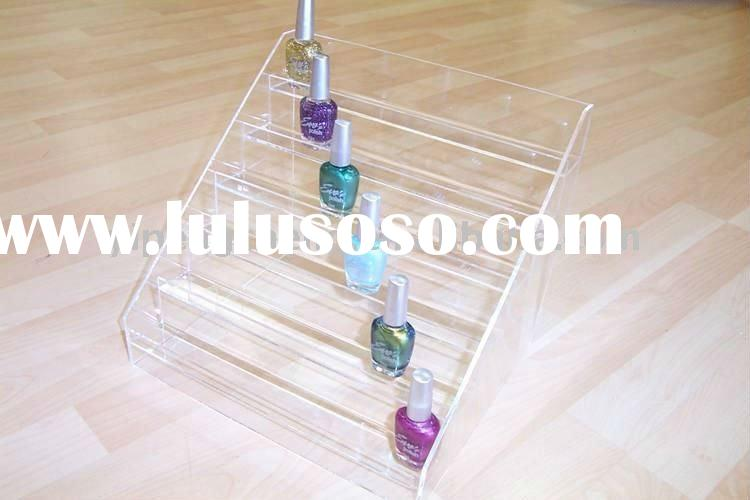 hot! fashion and customized nail polish display rack