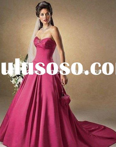 hot sell bridal red wedding dresses