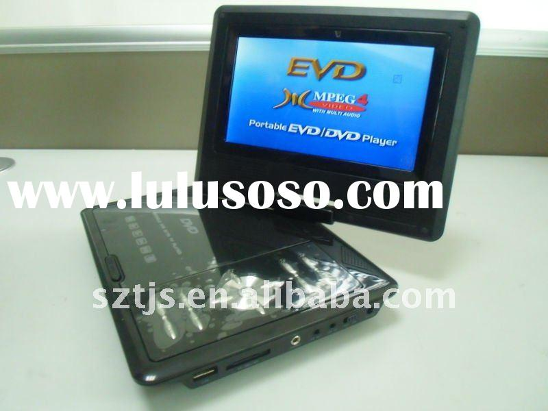 "kids Portable DVD player 7"" TFT LCD screen"