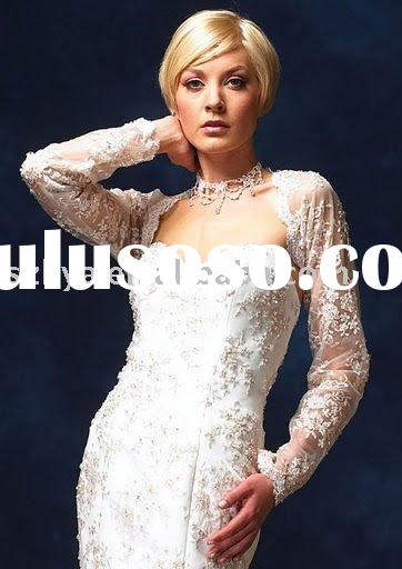 lace wedding jacket, bridal wedding jacket, bridal jacket, wrap,wedding bolero XWT038