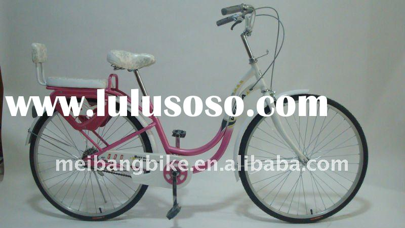 ladies city bike with wheel size of 26*1.75 tire