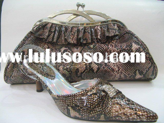 ladies evening shoes and matching bags (SB159 accept paypal)