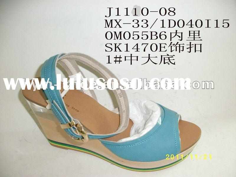 ladies fashion sandals shoes 2012 summer autumn