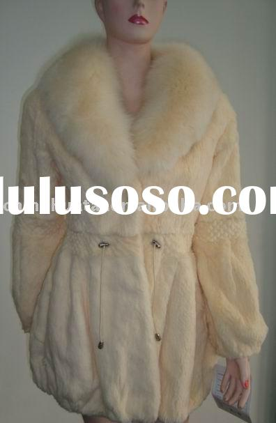 ladies' rabbit fur coats