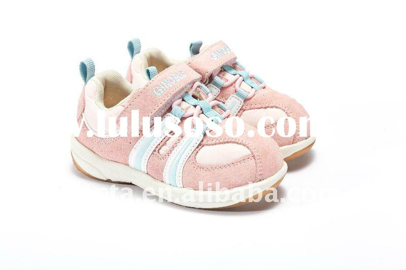 leather baby walking shoes