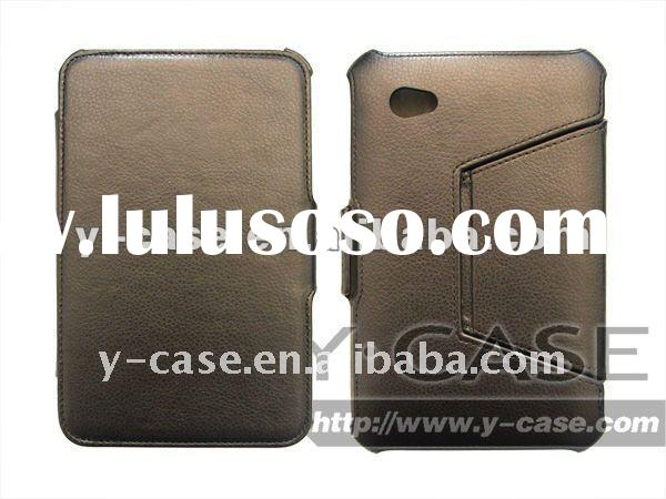 "leather case for samsung galaxy S2 7.7"";for galaxy 7.7"" case;leather case for S2 P6800"