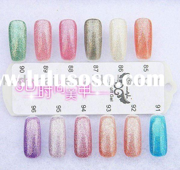 led soak off QQ gel uv gel nail polish