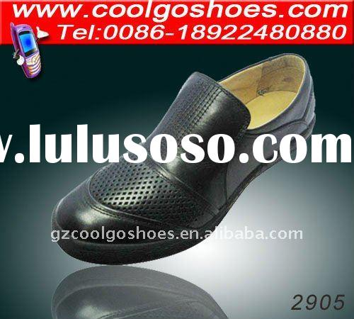 mens leather open shoes exclusive leather shoes men