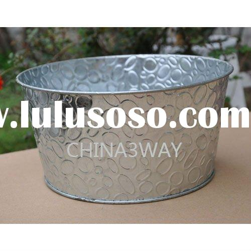 metal galvanized tubs