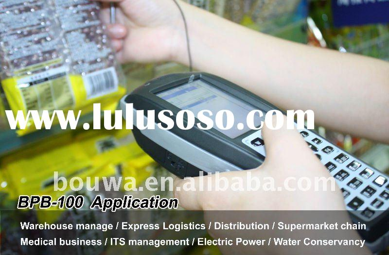 mini barcode printer and scanner with industrial PDA