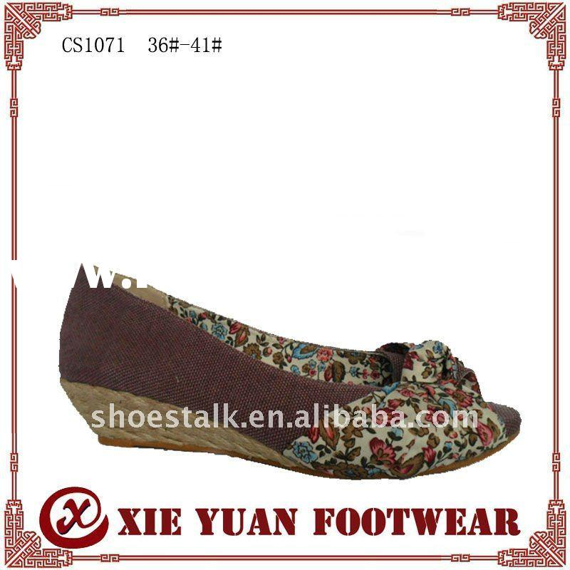 most fashion 2011 spring/summer lady casual shoes