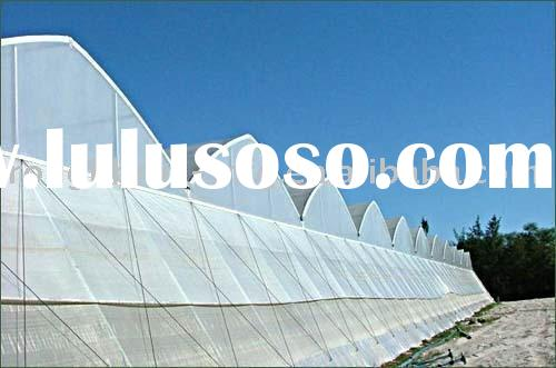 multi span film agricultural greenhouses