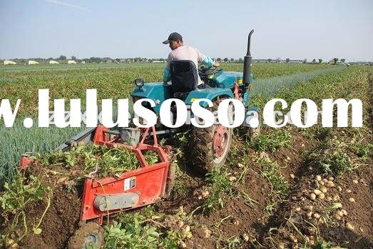 multifunction single-row potato harvester for harvesting potato, peanut and taro