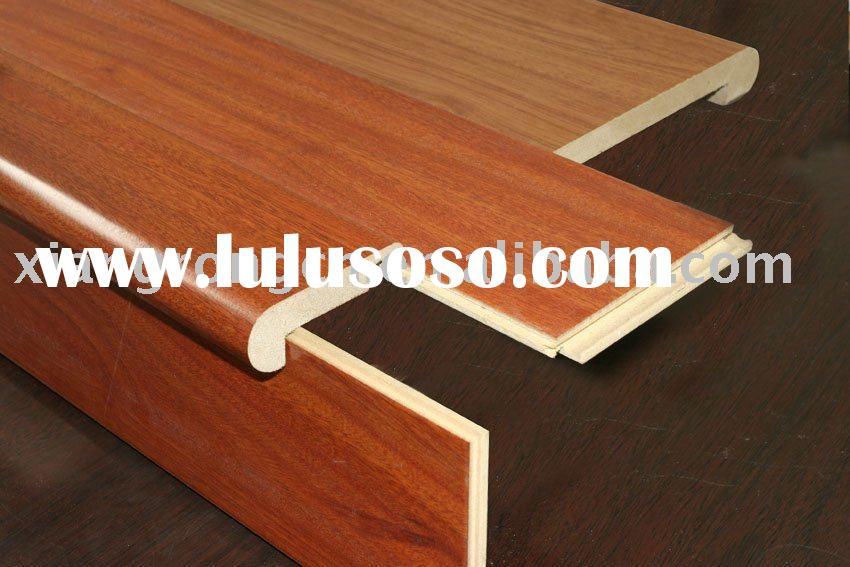 Awesome Flush Laminate Stair Nose Molding Glue Flooring Moulding Overlap Used For