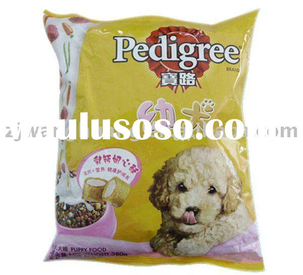 pet food bag for dog food