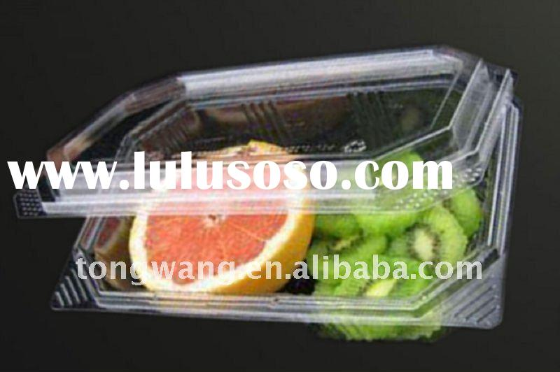 plastic food packaging / plastic tray/food tray