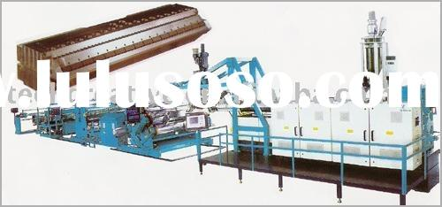 plastic machinery to make PE Plastic Thick Plates (Sheets )Extruded Prodution Line