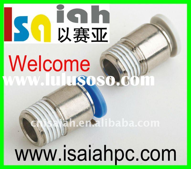 pneumatic fitting-plastic sleeve brass body quick tube connector