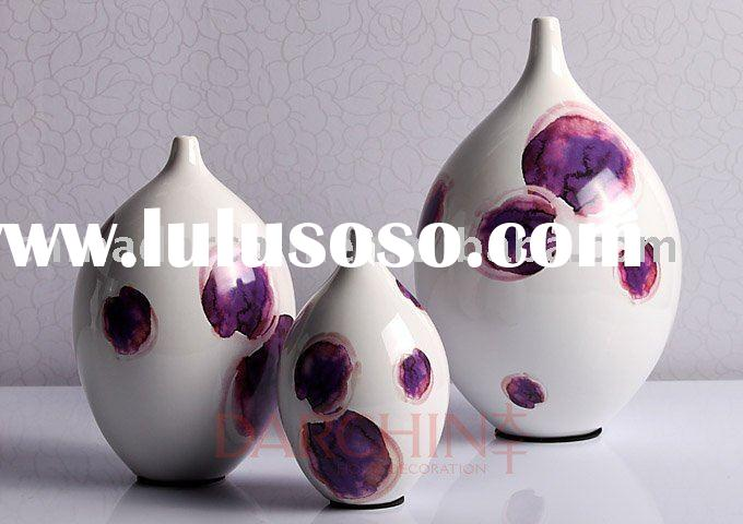 pop art ceramic vase ,craft ceramic ,home decoration