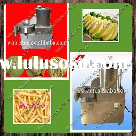 potato chips processing machine/potato chips peeler/potato chiping cutting machine