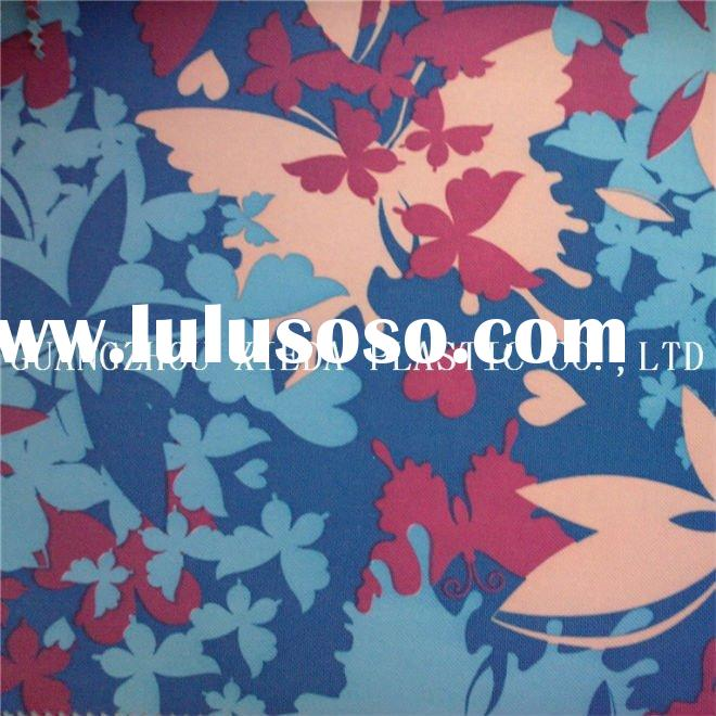 printed polyester fabric bag making material