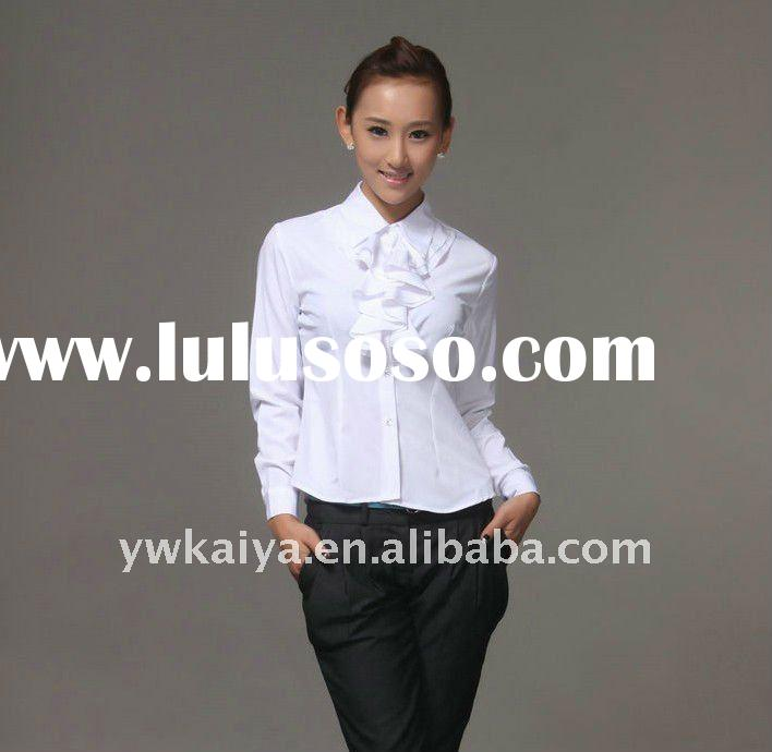 restaurant shirt uniform,girls uniform shirt,ladies uniform shirts,hot uniform shirts women