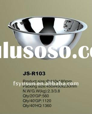 round stainless steel basin,steel bowl sink