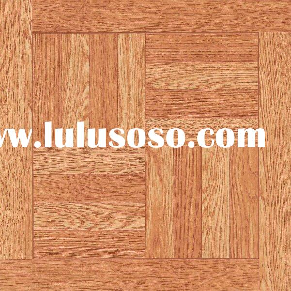 Floor tile adhesive thickness