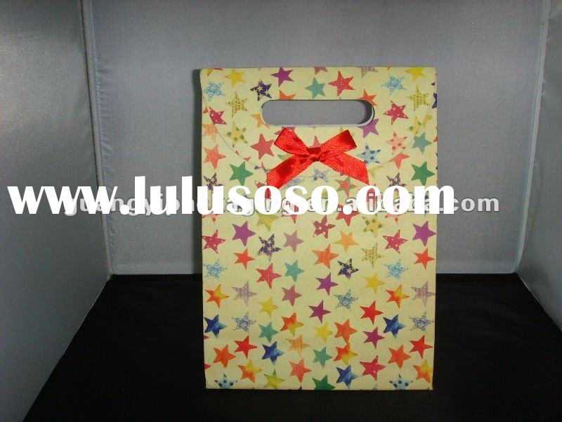 shopping paper bag making machine,luxury paper printed shopping bag