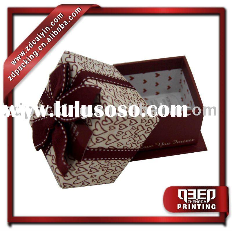 small gift set paper jewelry boxes