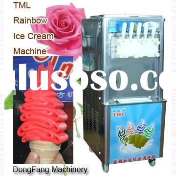 soft serve ice cream machine commercial rainbow BQL560 ice cream maker