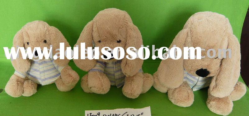 stuffed dog animals/plush dog animals/plush toys
