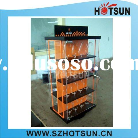 top grade lockable acrylic watch display case