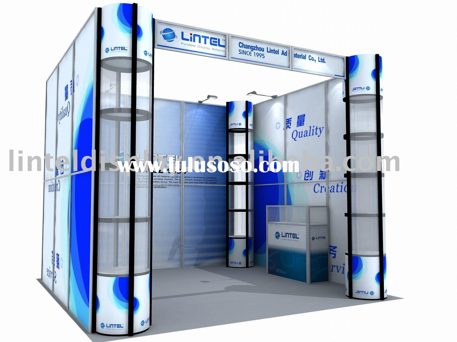 trade show exhibit booth display design 3*3