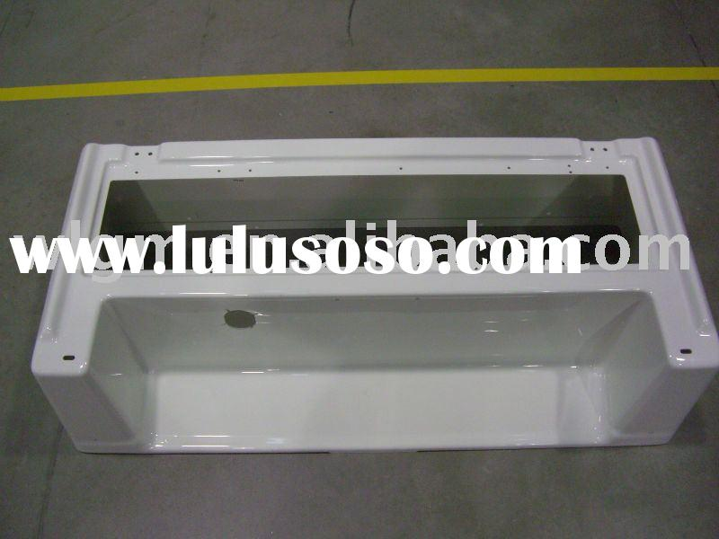 vacuum forming thick plastic sheet thermoformed seat cover panel