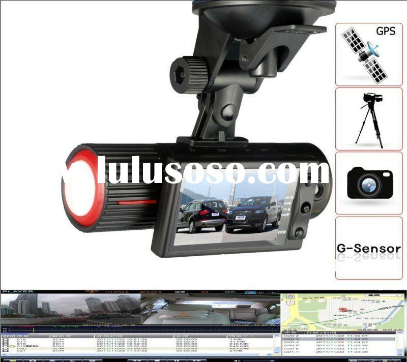 wide angle car video recorder gps
