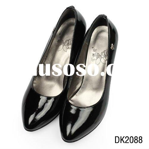 women high heel shoes,100% genuine leather