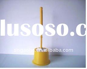 wood toilet brush, toilet brush in rubber, tube toilet brush, toilet bowl brush, toilet brush with p