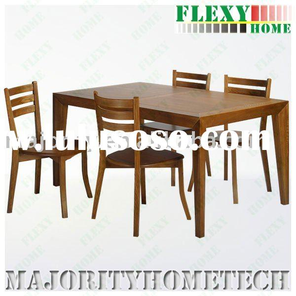 wooden chairs and table for dining room furniture sets---WDS41