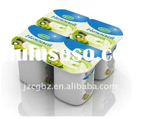 yogurt/sour milkjelly/milk/ice cream/jam juice cup or bowl and box filling and sealing machine/heart