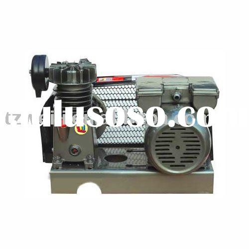 0.5hp to 2hp belt driven single piston iron air compressor