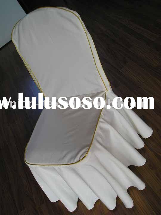 100% polyester chair covers for wedding and banquet (UT-WU-1006106)