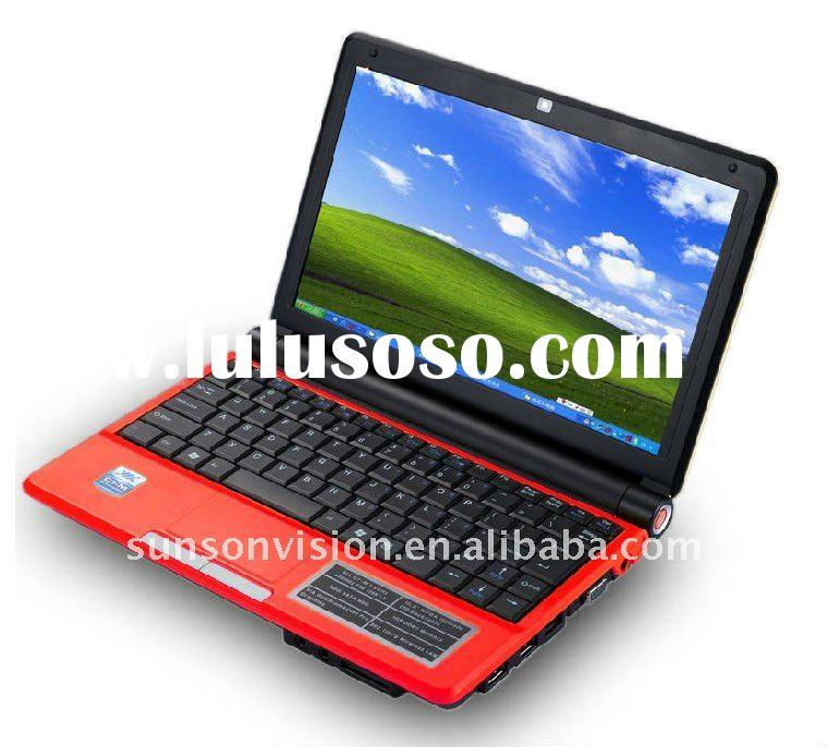 10.2 inch mini Laptops netbooks computer good quality and cheapest price accept OEM