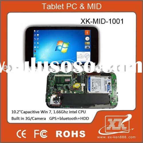 "10"" tablet PC, Laptop ,computer,3G built-in,16G SSD HDD, Windows 7, GPS ,Bluetooth"