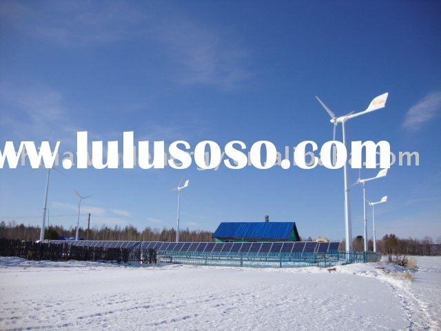 10kW Wind and Solar Hybrid Power Supply System