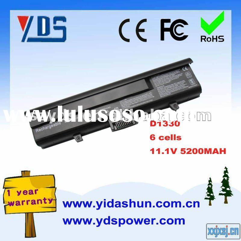 11.1V 5200mah 6cells Li-ion Rechargeable Battery for Dell Latitude D1330 Series